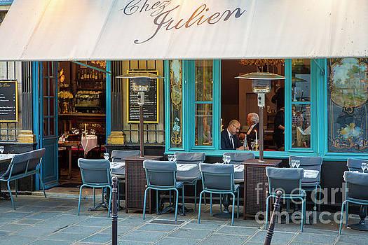 Brian Jannsen - Evening at Chez Julien