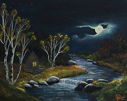 John Reid - Evening At The Cabin