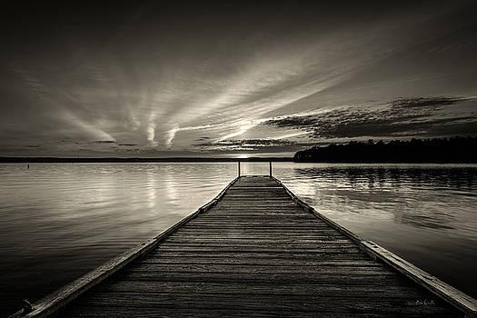 Evening At The Lake by Bob Orsillo