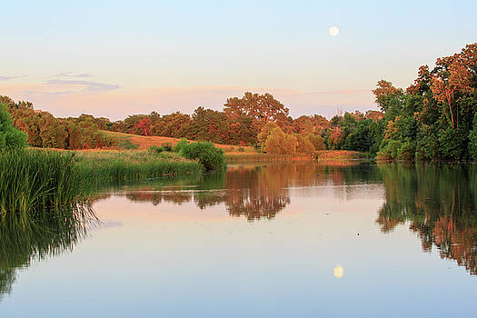 David Chandler - Evening at the Lake