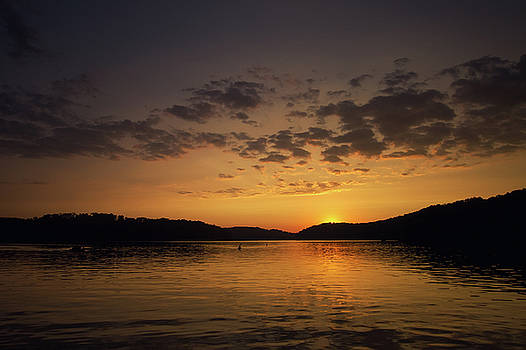 Evening at the Lake by Victoria Winningham