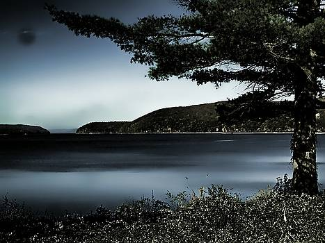 Evening at the Quabbin Reservoir, MA by Mike McCool