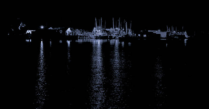 Evening at the Wharf by Greg Thiemeyer