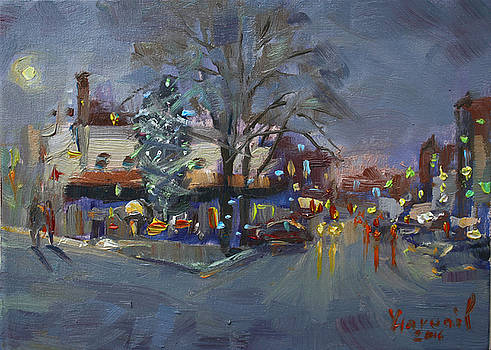 Ylli Haruni - Evening at Webster and Main St