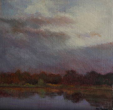 Evening by the Lake by Jan Frazier