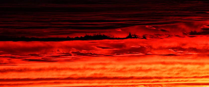 Evening Clouds by William Selander