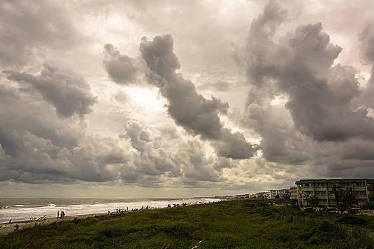 Evening Cloudscape on Isle of Palms by Josh Blaha