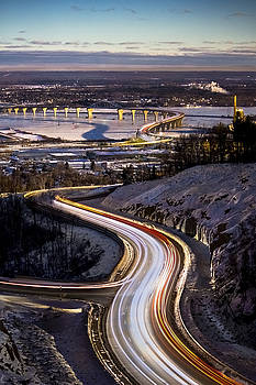 Evening Commute // Duluth, MN by Lloyd Fisher Photo