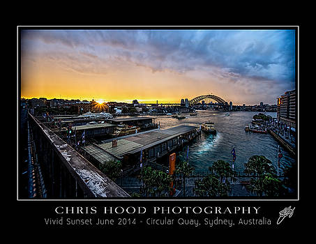 Evening Descend on Vivid by Chris  Hood