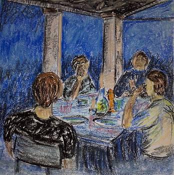 Evening Dinner by Sarah Khalid Khan