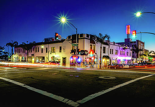 Evening Downtown Pismo Beach by Christopher Petro