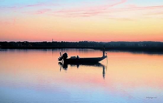 Evening Fisherman by William Bosley