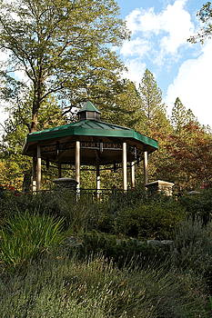 Evening Gazebo in Paradise by Michele Myers