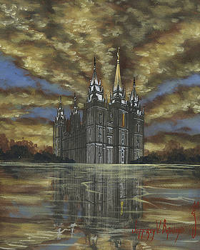 Jeff Brimley - Evening Glory