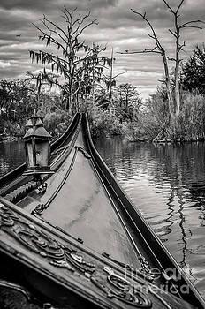 Kathleen K Parker - Evening Gondola Ride-BW-NOLA