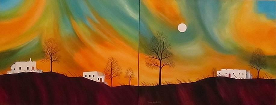 Evening Haboob II by Carol Sabo
