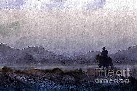 Evening Horseback Ride by Judy Filarecki