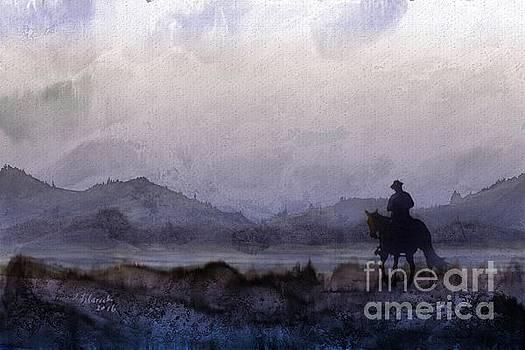 Evening Horseback Ride by Judy Filarecki