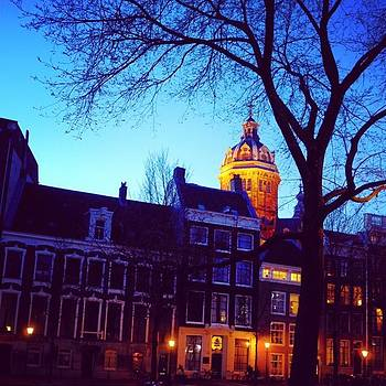 Evening In Amsterdam by Aleck Cartwright
