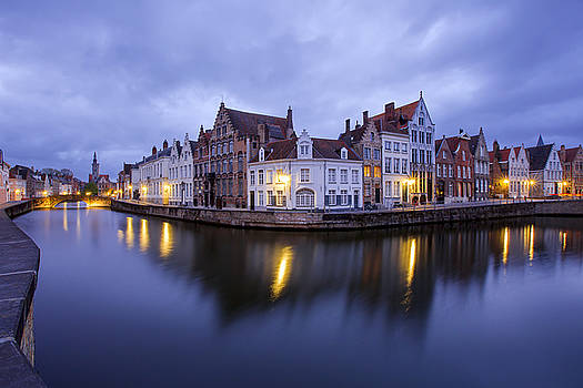 Evening in Brugge by Renee Doyle