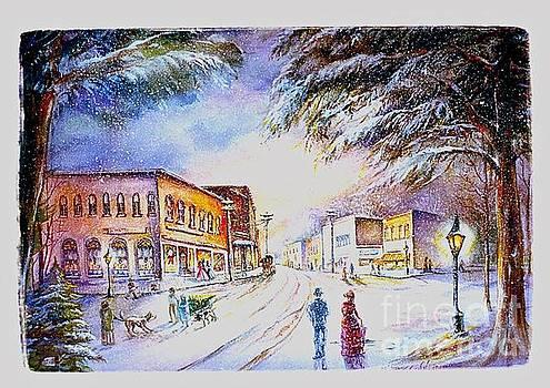 Evening in Dunnville by Patricia Schneider Mitchell