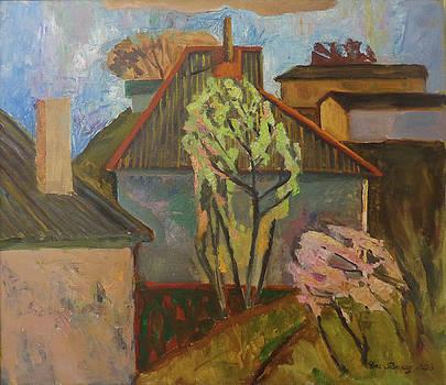 Evening in Grushevka by Yana Poklad