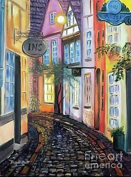 Derek Rutt - Evening In Old Bremen