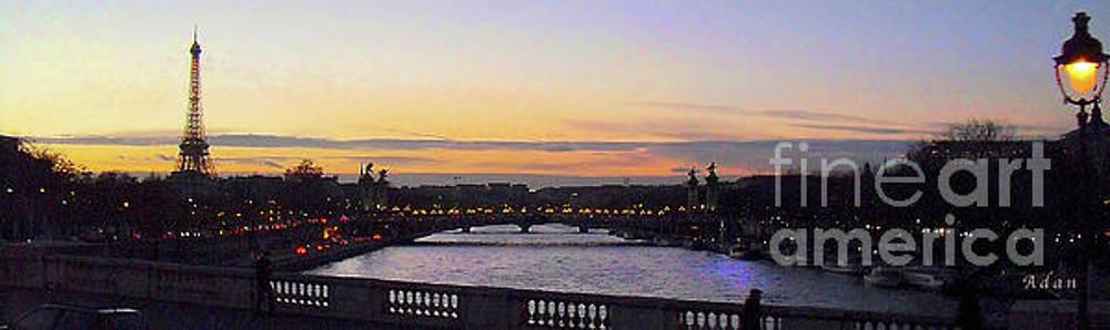 Felipe Adan Lerma - Evening in Paris Panorama
