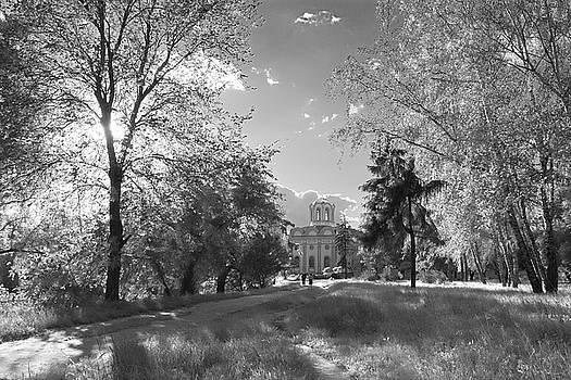 Evening in park. Chernihiv, 2016. by Andriy Maykovskyi