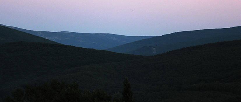 Evening in the Mountains by John Stuart Webbstock