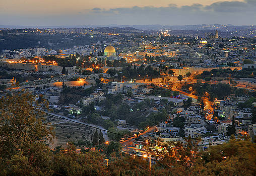 Zoriy Fine - Evening Jerusalem