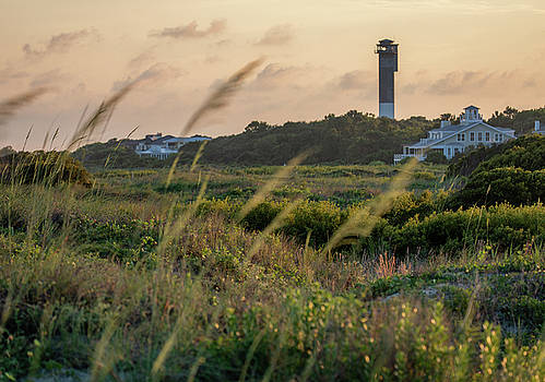 Evening Light Sullivan's Island by Donnie Whitaker