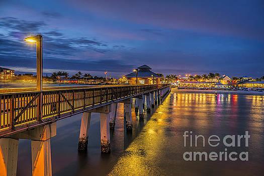 Evening Lights  by Scott Wood