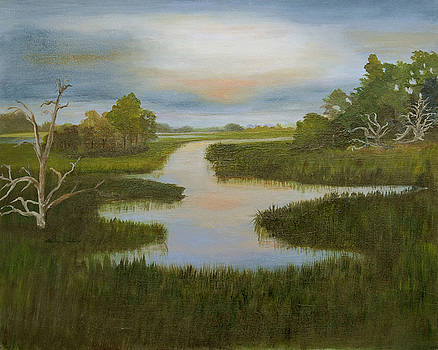 Evening Marsh by Shirley Lawing
