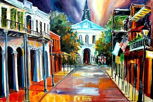 Evening on Orleans Street by Diane Millsap