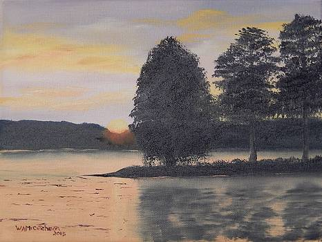 Evening on Smith Lake by William McCutcheon