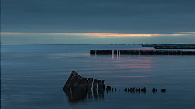 Evening on the Great South Bay by Steve Gravano