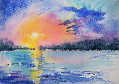 Evening Peace by Adam VanHouten