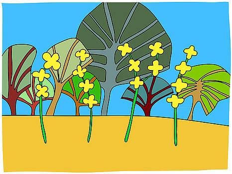 Evening primrose by Nicholas Brockbank