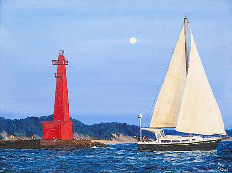 Evening Sail by Sean Koziel
