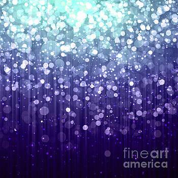 Tina Lavoie - Evening Sparkle Abstract Sparkle Art