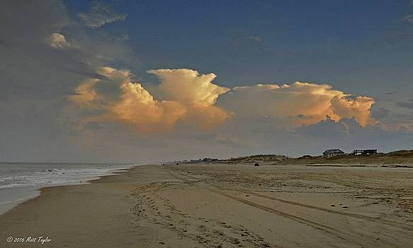 Evening Storms Over Nags Head by Matt Taylor