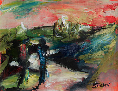Evening Stroll by Sharon Sieben