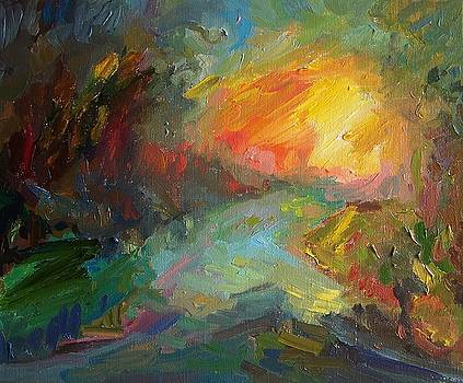 Evening Tale II by Roland Kay