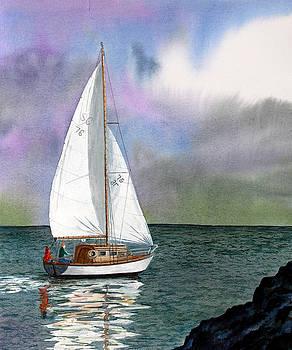 Evening Tide by Fay Reid