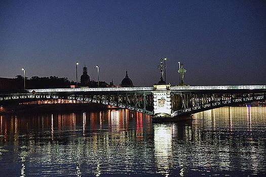 Evening View - Pont de l' Universite by Harvey Barrison