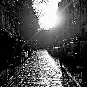 Felipe Adan Lerma - Evening Walk In Paris Bw Squared