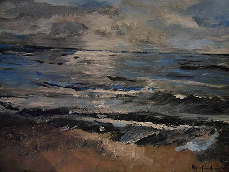 Evening Waves by Rozenia Cunningham