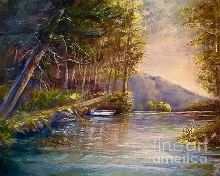 Evening's Twilight by Patricia Schneider Mitchell