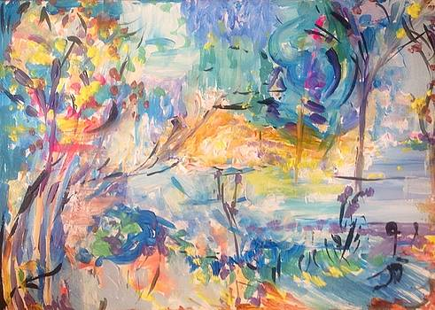 Eventually the sun shone thru by Judith Desrosiers